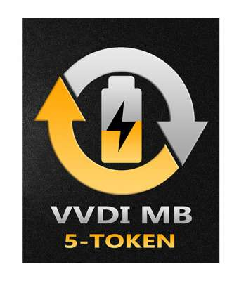 5 Tokens for Online Password Calculation for VVDI MB Tool