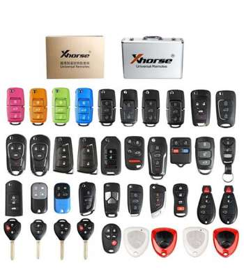 Xhorse Universal Remote Keys Case with 39pcs